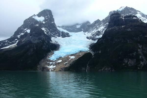 Balmaceda glacier.