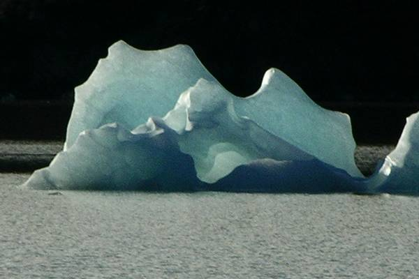 And another iceberg.