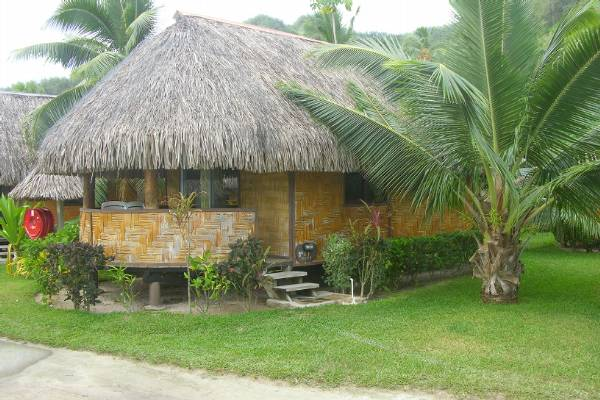 Our hut in the Moorea Village Hotel